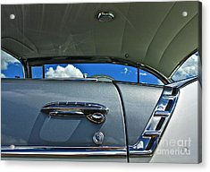 Acrylic Print featuring the photograph 1956 Chevy Bel Air by Linda Bianic