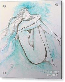 Blue Solitude Acrylic Print