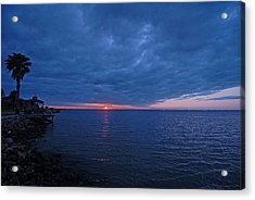 Acrylic Print featuring the photograph Blue Sunrise by Susan D Moody
