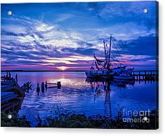 Blue Sunset Acrylic Print