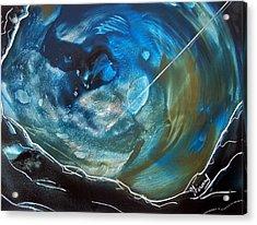 Blue Topaz Acrylic Print by Jason Girard