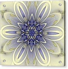 Blue Trance Acrylic Print