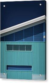 Blue White Blue White Acrylic Print