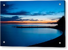 Blue Willingdon Acrylic Print