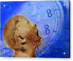 Blue World Acrylic Print