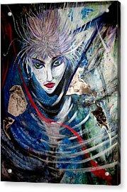 Blue Zen Acrylic Print