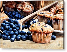Blueberry Muffins Acrylic Print by Stephanie Frey