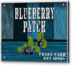 Blueberrys Acrylic Print