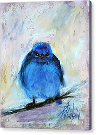 Bluebird Of Unhappiness Acrylic Print