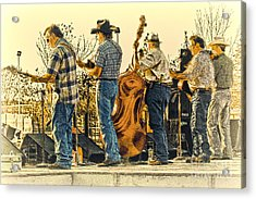 Bluegrass Evening Acrylic Print