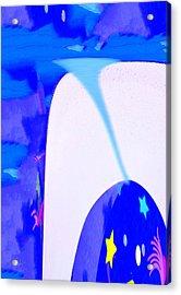 Bluenado Acrylic Print by Bruce Iorio