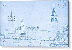 Blueprint London Acrylic Print