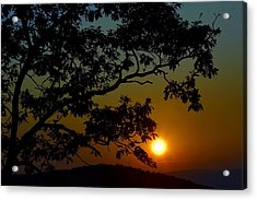 Blueridge Sunset Acrylic Print