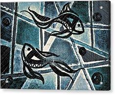 Blues 2 Acrylic Print by Kiara Reynolds