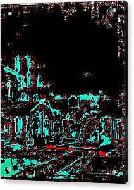 Blood Alley Acrylic Print