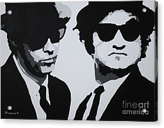 Blues Brothers Acrylic Print by Katharina Filus