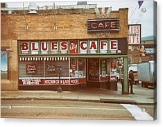 Blues City Cafe On Beale Street Memphis Acrylic Print by Mary Lee Dereske