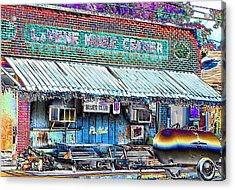 Blues Club In Clarksdale Acrylic Print