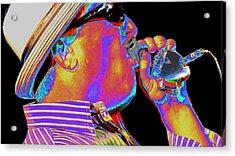Blues Harp Acrylic Print