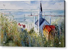 Bluff View St. Annes Mackinac Island Acrylic Print