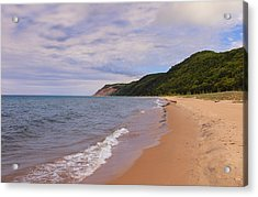 Bluffs At Glen Haven 4 Acrylic Print