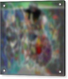 Blur #2 Acrylic Print by George Curington