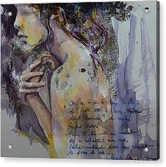 Blurred Mood Acrylic Print by Dorina  Costras