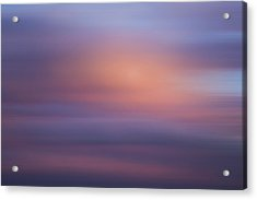Acrylic Print featuring the photograph Blurred Sky 4 by John  Bartosik