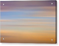 Acrylic Print featuring the photograph Blurred Sky 8 by John  Bartosik