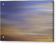 Acrylic Print featuring the photograph Blurred Sky3 by John  Bartosik