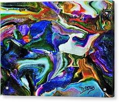 Blutanium Acrylic Print