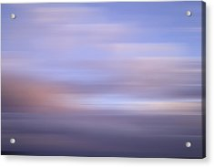 Acrylic Print featuring the photograph Bluured Sky 5 by John  Bartosik