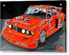 Bmw 320 Acrylic Print by Jose Mendez
