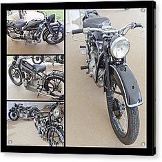 Bmw Art Deco Bikes Acrylic Print