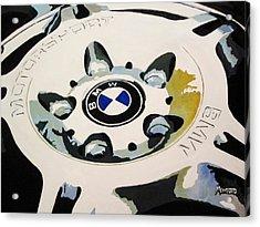 Bmw Ltw Wheel Acrylic Print by Indaguis Montoto