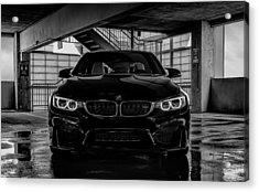 Acrylic Print featuring the digital art Bmw M4 by Douglas Pittman