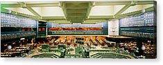 Board Of Trade Chicago Il Usa Acrylic Print by Panoramic Images