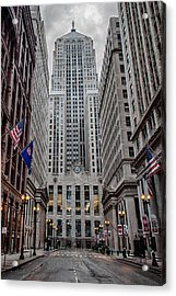 Board Of Trade Acrylic Print by Mike Burgquist