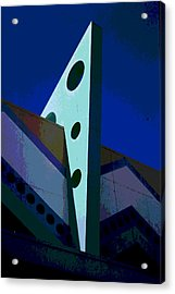 Boardwalk Blue Acrylic Print by James Harper