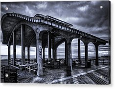 Boardwalk Brooklyn08 Acrylic Print by Svetlana Sewell