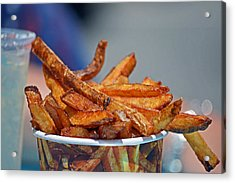 French Fries On The Boards Acrylic Print