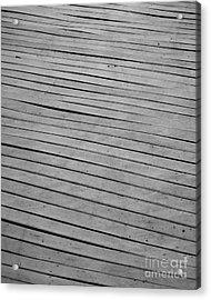 Acrylic Print featuring the photograph Boardwalk by Kristen Fox