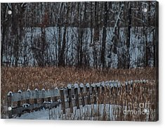 Acrylic Print featuring the photograph Boardwalk Series No2 by Bianca Nadeau