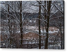 Acrylic Print featuring the photograph Boardwalk Series No3 by Bianca Nadeau