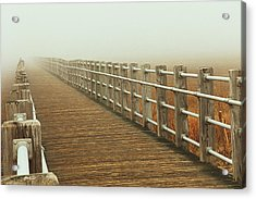 Boardwalk To The Unknown Acrylic Print by Karol Livote