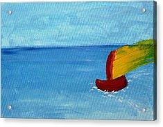Boat Acrylic Print by Anna Mihaylova