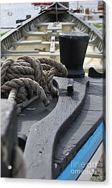 Boat At Mystic Seaport Acrylic Print