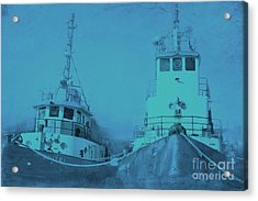 Boat Cemetery 2 Acrylic Print by Sophie Vigneault