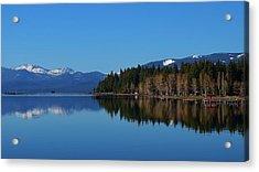 Boat House Lake Tahoe Acrylic Print