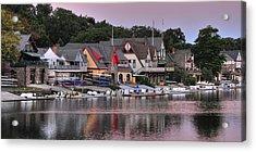 Boat House Row 2 Acrylic Print